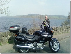 Alan at Loch lomond